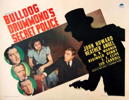 Bulldog Drummond´s Secret Police